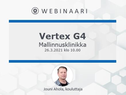 Vertex G4 mallinnusklinikka